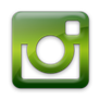 Instagram green icon